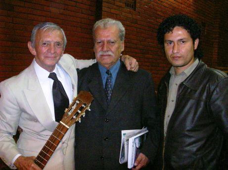 Hugo Oquendo, José Serrano, Rodrigo Aguilar.