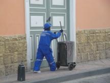 Recolector de desechos